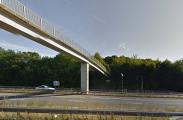 UK Berkshire - Maidenhead Thicket 2 Pedestrian Bridge